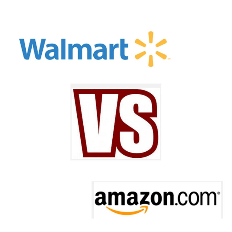 walmart vs amazon Walmart started off as a humble store in rural arkansas amazon started as a quaint online bookshop based in seattle my, how things have changed today, bot.
