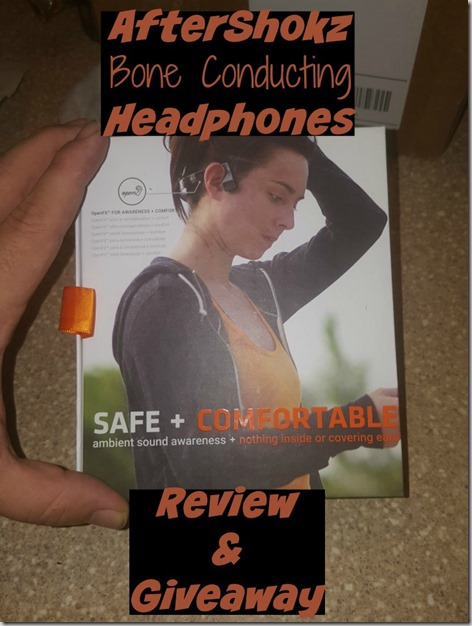 Aftershokz Bone Conducting Headphones Review and Giveaway! ($99.95 Value)