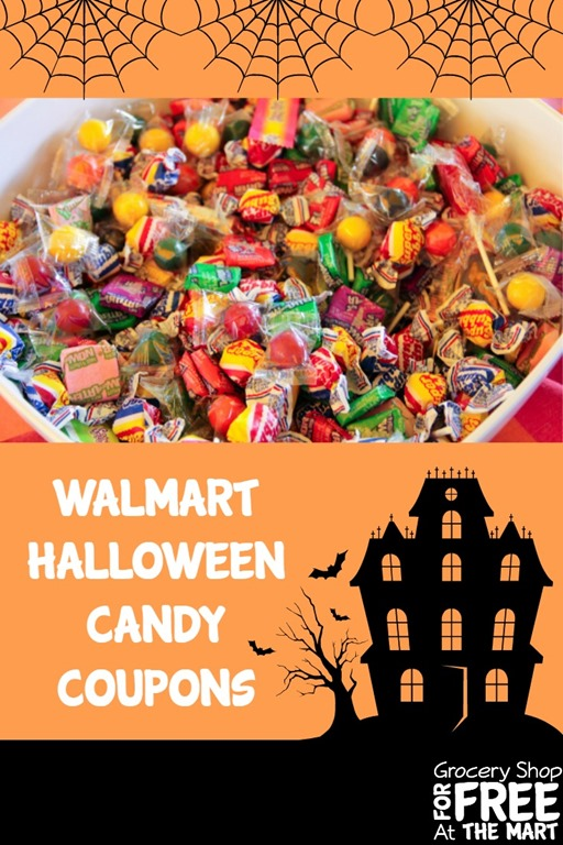 Walmart Halloween Candy Coupon Matchups! | Grocery Shop For FREE ...
