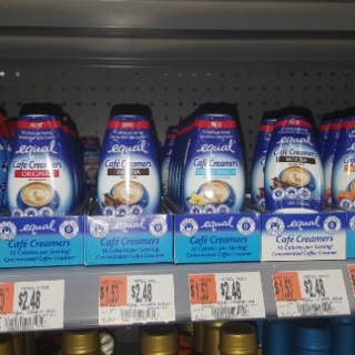 Equal Cafe Creamer Just $0.48 At Walmart