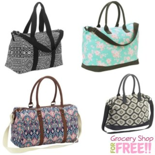 Women's Weekender Bags Just $9.50 At Walmart!