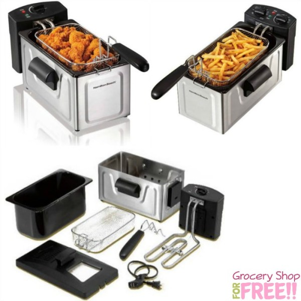 Hamilton Beach Professional Deep Fryer Just $16.88! Down From $25!