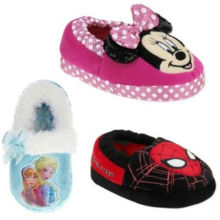 Kids Character Slippers Just $3.88!