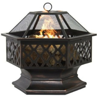 Hex Outdoor Fire Pit Just $79.99! Down From $160! PLUS FREE Shipping!
