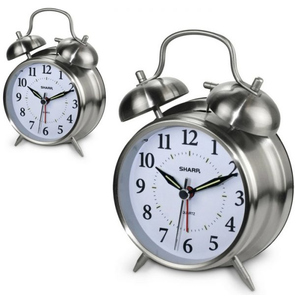 Sharp Twinbell Alarm Clocks Just $7.88!