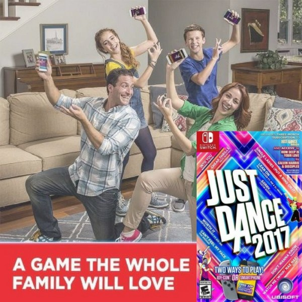 Just Dance 2017 Nintendo Switch Just $34.29! Down From $60!