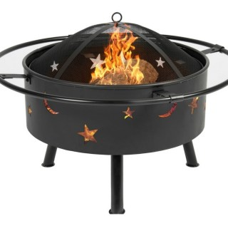 30″ Fire Pit With Cooking Grill Just $59.99! Down From $130! PLUS FREE Shipping!