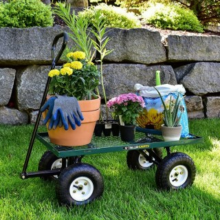 Gorilla Carts Steel Garden Cart Just $55.05! Down From $90! PLUS FREE Shipping!