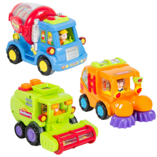 3 Push & Go Toy Vehicles Just $16.94! Down From $60!