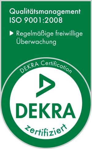 Zertifizierung nach ISO 9001