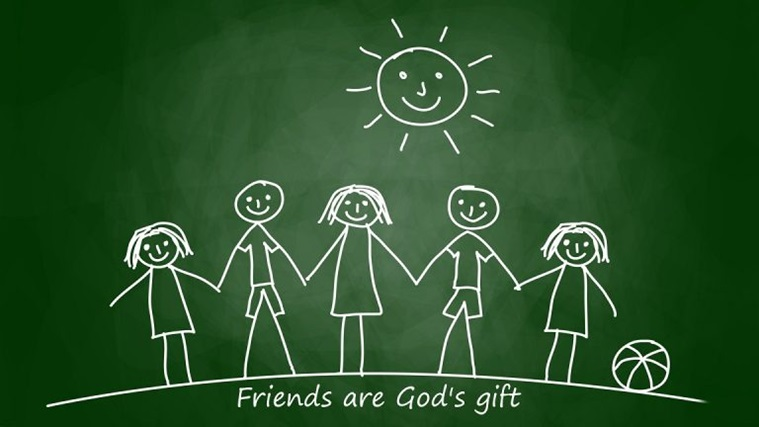Friends are God's gift