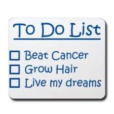 To Do List cancer
