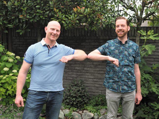 Pieter van Loon en Erik Strijbos - Foto: Tanja Strijbos