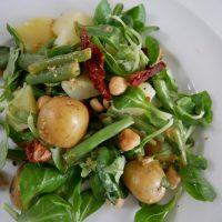 Krieltjes salade, een van mijn favoriete salades!