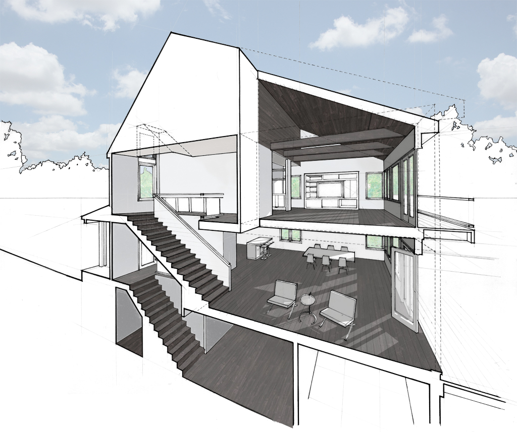 LAKE RESIDENCE Michael Grogan Architect