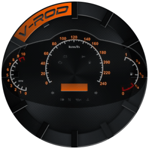 V-ROD WATCHFACE