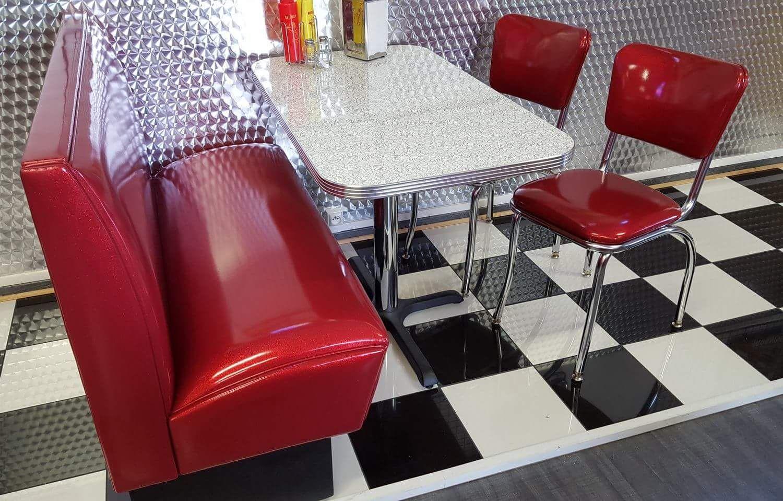 ensemble diner americain vintage