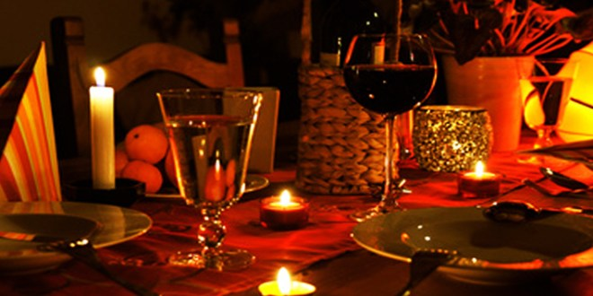 3 Basics For A Perfect Candle-Light Dinner