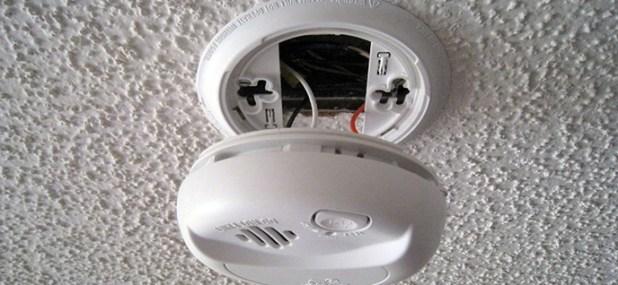 open smoke detector
