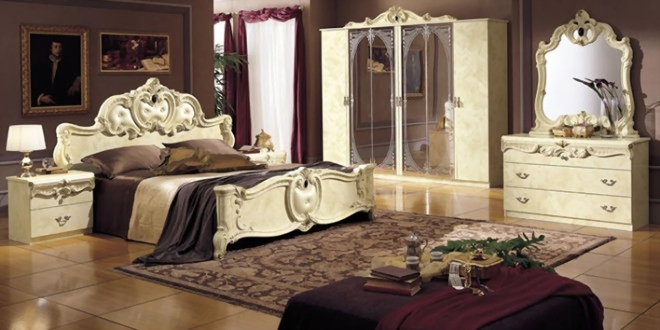 images for how to decorate a baroque style bedroom 2