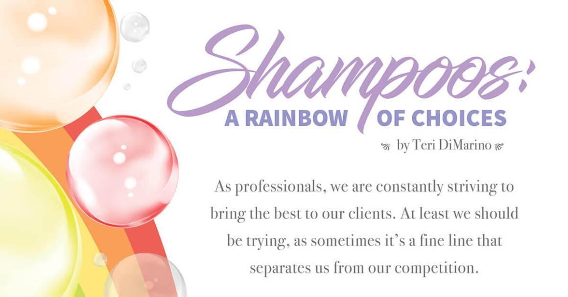 shampoo rainbow bubbles