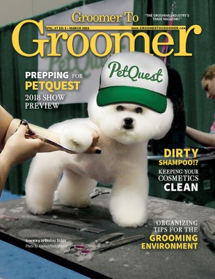 March 2018 Cover Groomer to Groomer