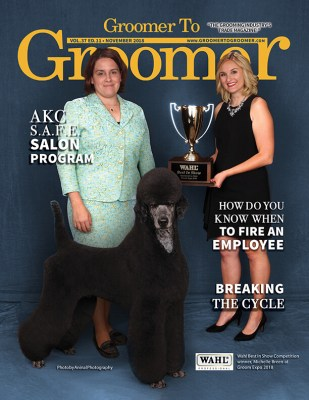 November 2018 Issue Groomer to Groomer