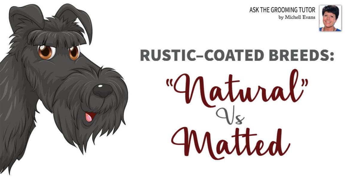"Rustic-Coated Breeds: ""Natural"" vs Matted"