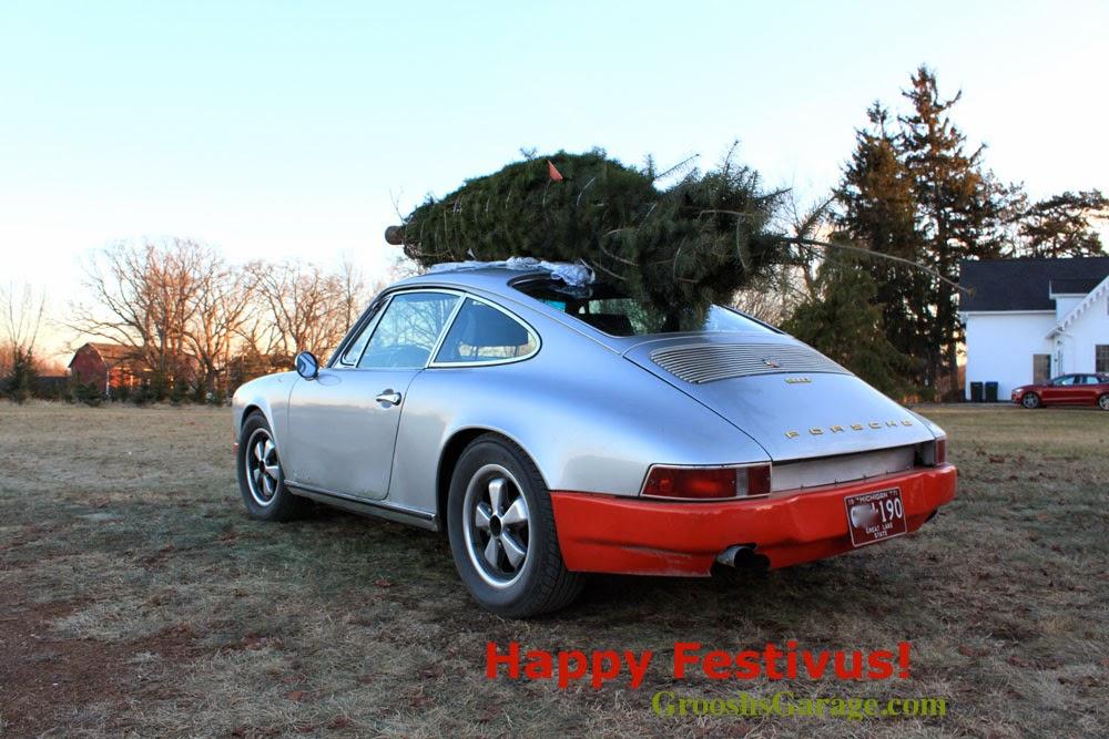 Porsche 911 Merry Christmas