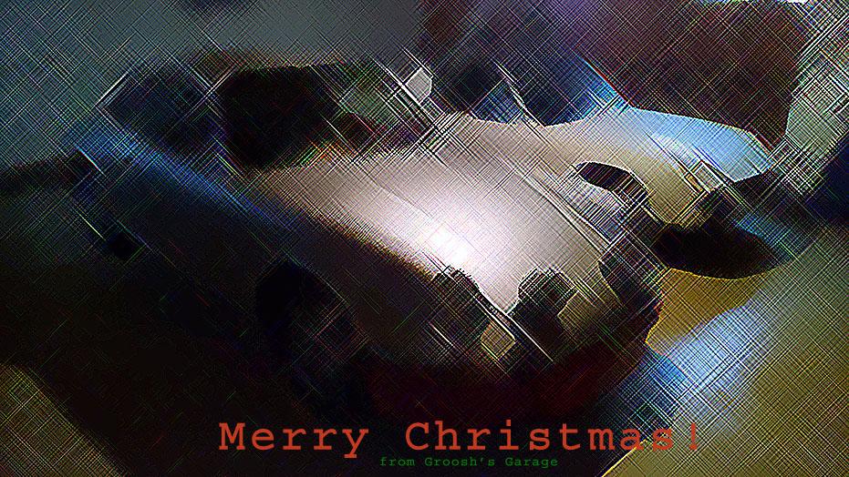 Porsche 911 and 914 Merry Christmas 2014