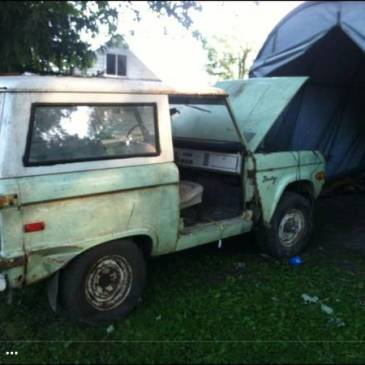 1972 Ford Bronco – $4500