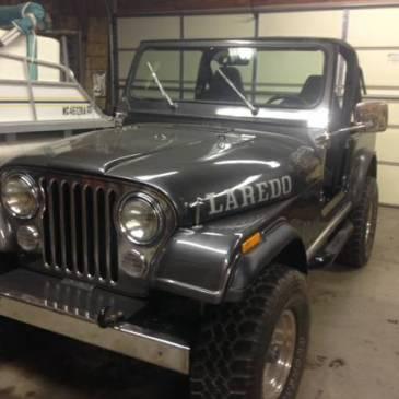 1986 Southern CJ7 Jeep 4×4 – $7800 (Brighton)