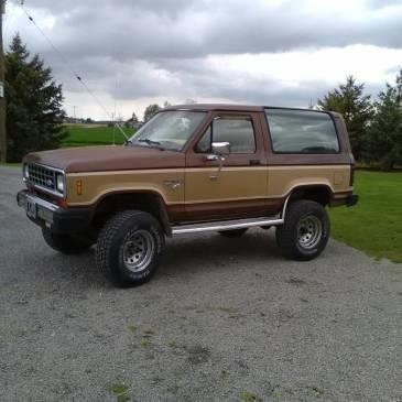 1984 Ford Bronco II  XLT, Original Owner