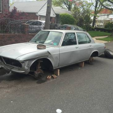 Anybody Want to Get this Parts Car for Me in NY?