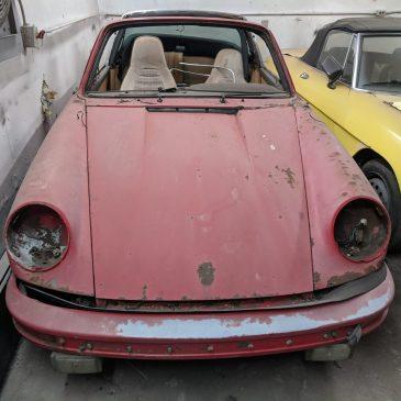 Sold – 1974 Porsche Targa Roller