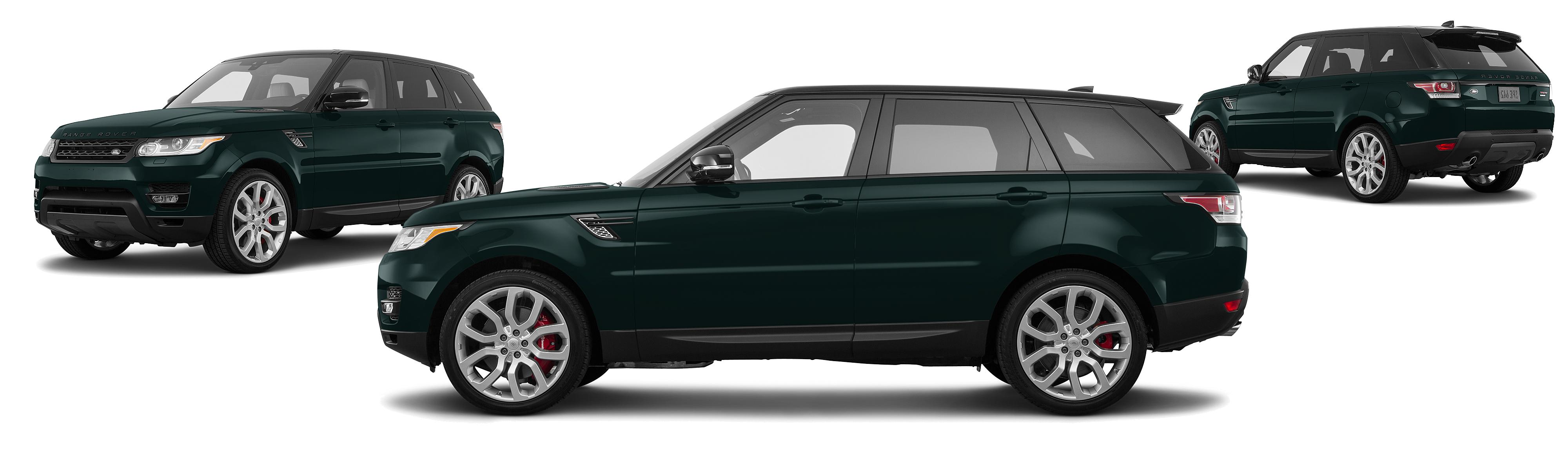 2017 Land Rover Range Rover Sport AWD Supercharged 4dr SUV