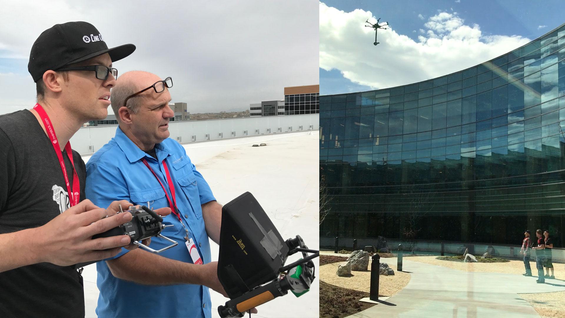 Ariel Drone Shot VR
