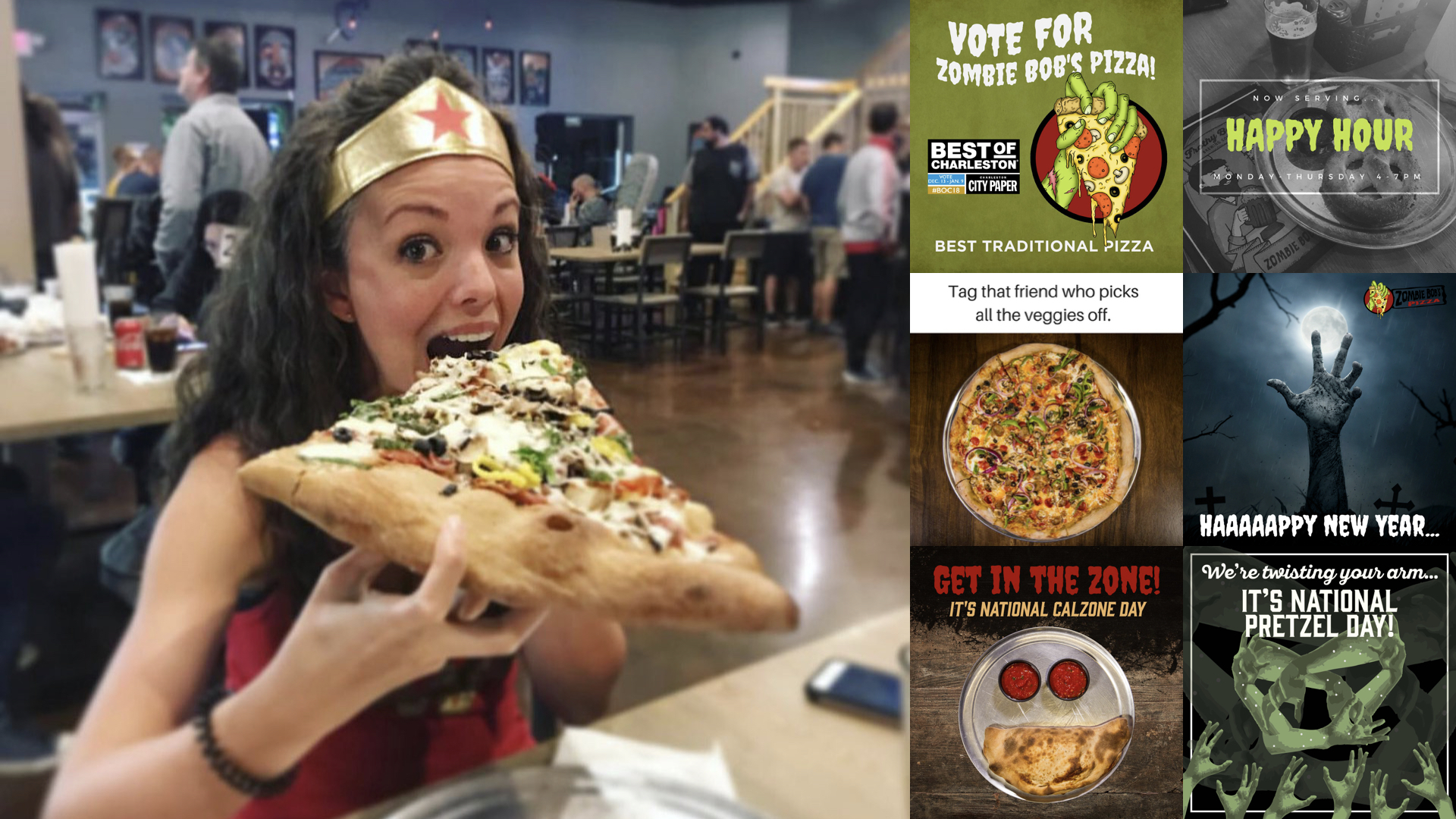 Zombie Bob's Pizza