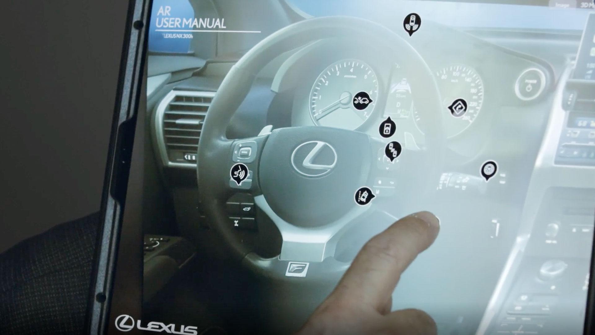Lexus augmented reality