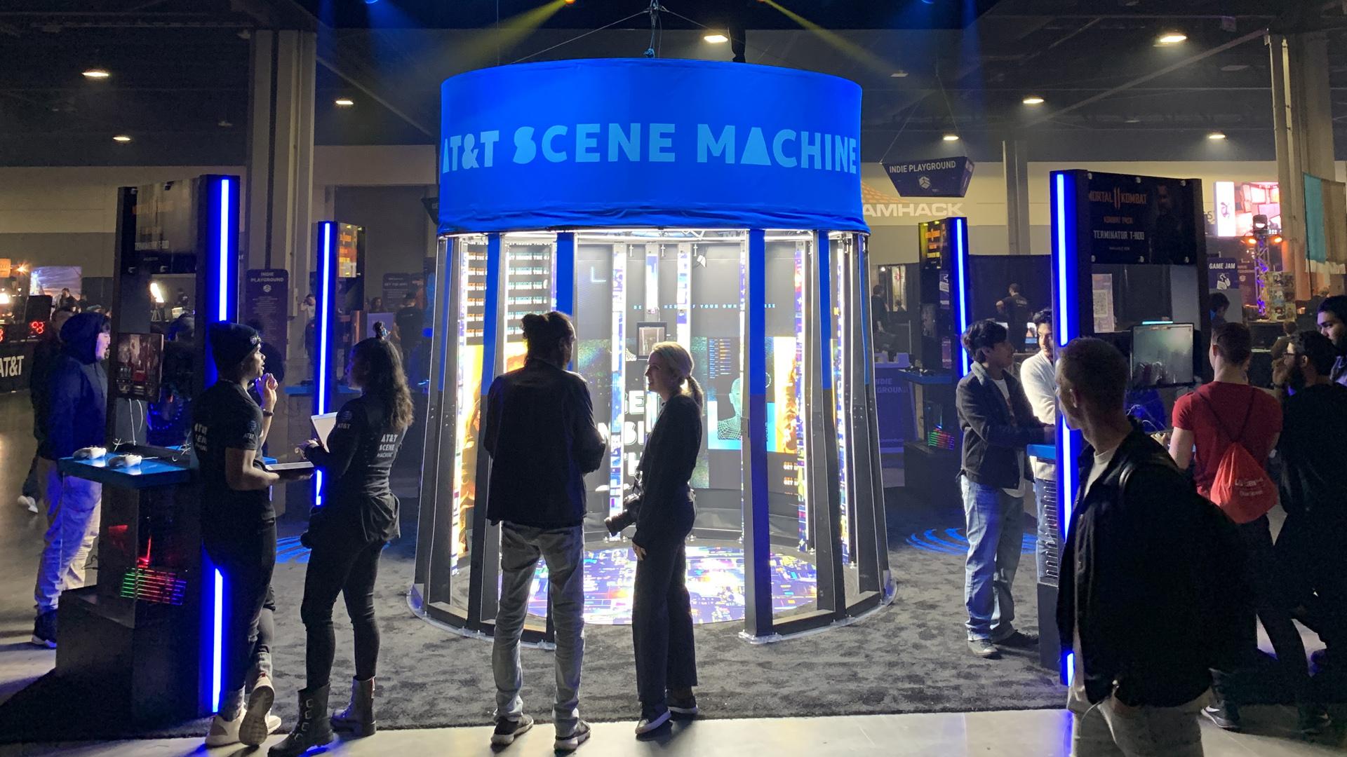 AT&T Scene Machine