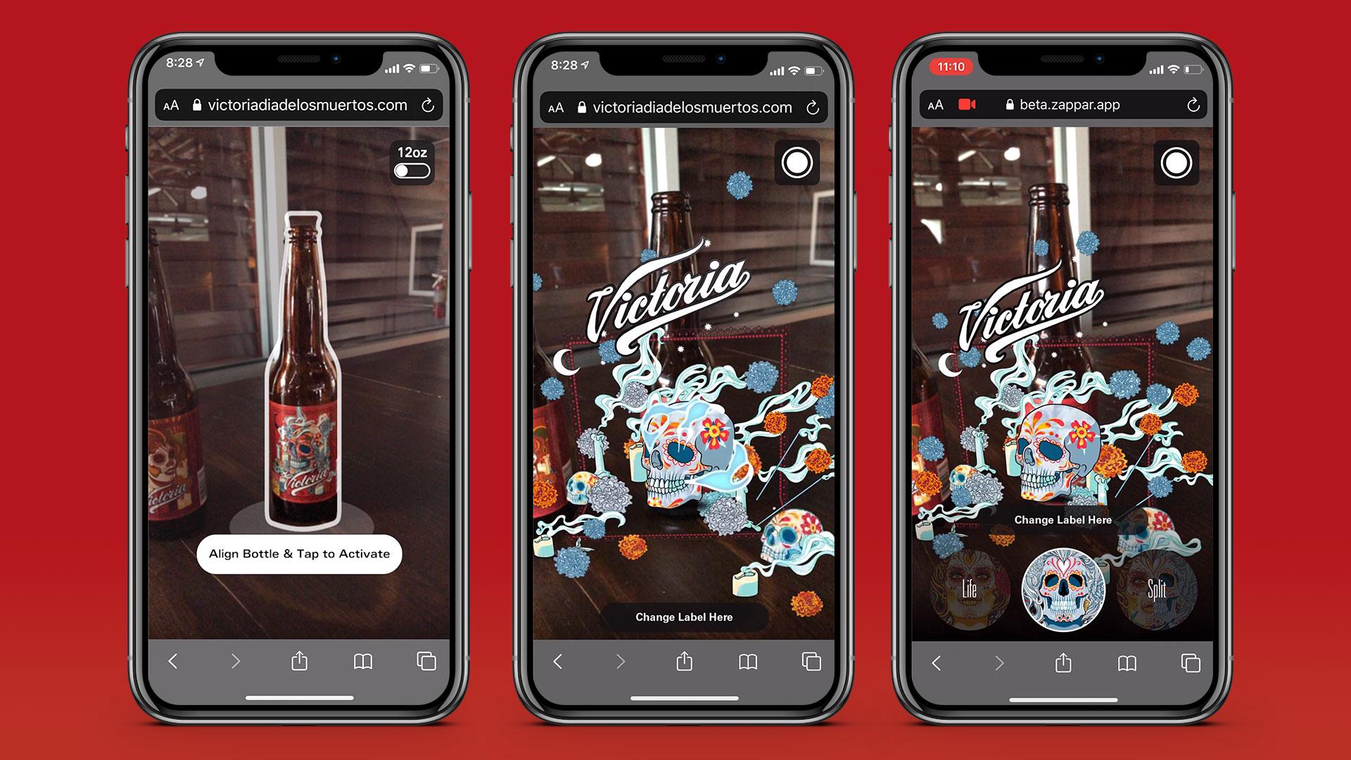WebAR Bottle