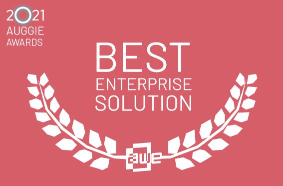 auggie finalist best enterprise solution
