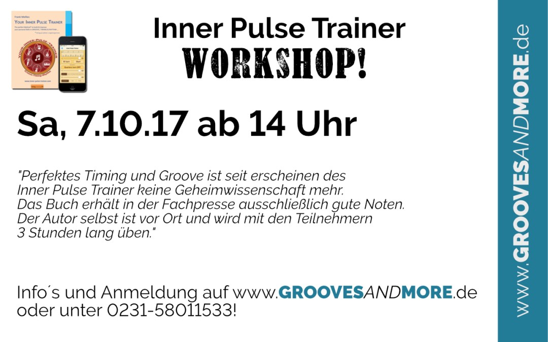 Inner Pulse Trainer Workshop – Timing kann man lernen