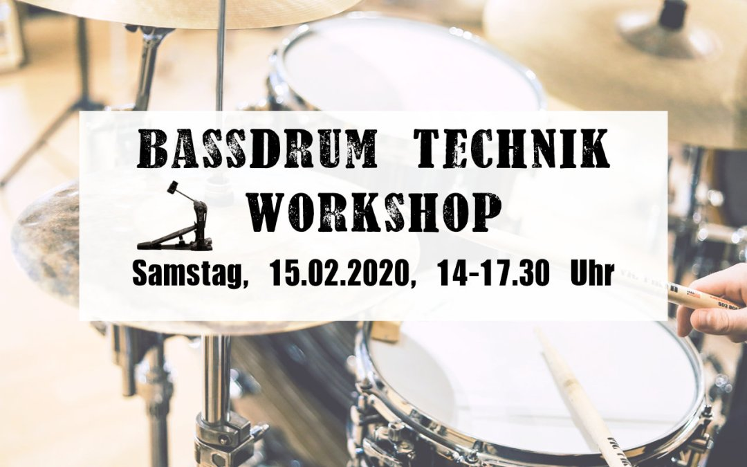 Bassdrum Technik Workshop