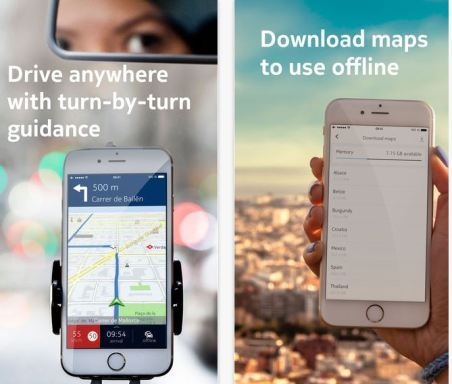 here maps app