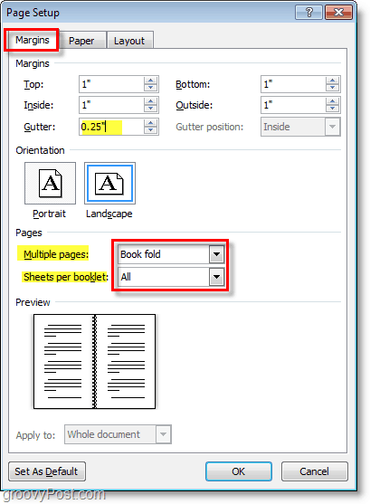 How To Create Booklets Using Microsoft Word 2010