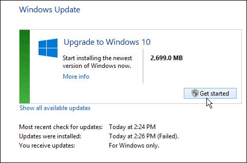 Windows 10 Ready
