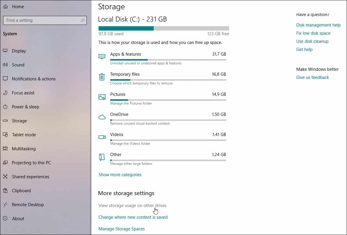 How To View All Connected Storage Devices On Windows 10