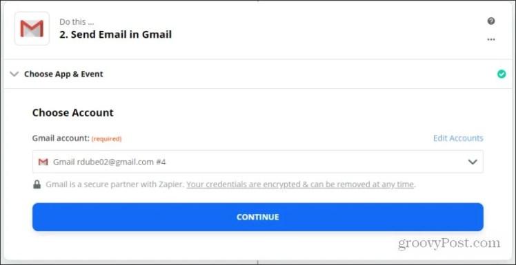 настроить учетную запись электронной почты