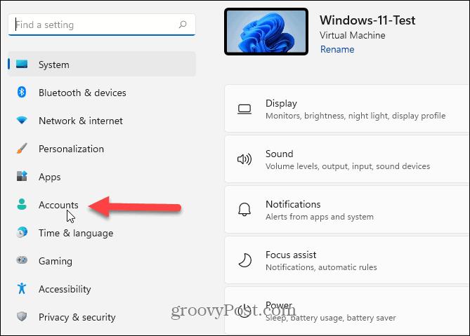 Аккаунты windows 11